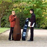Диалог перед концертом - наставления Мастера. :: Михаил Палей