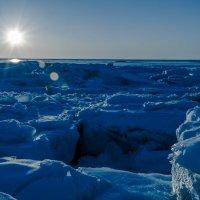 Закат. Белое море. :: Сергей Кордумов