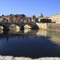 Рим, Тибр, мост Виктора Эммануила II :: Татьяна Нестерова