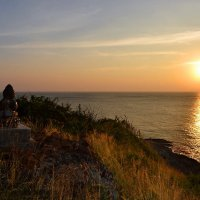 Маленький Будда на закате. :: Рай Гайсин