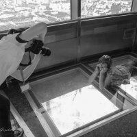 Фотосессия на башне :: Сергей Гойшик