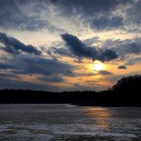 Ледяной закат..2 :: Андрей Войцехов