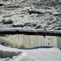 замерзший мостик :: Михаил *******