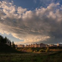 Тучи над городом :: Владимир Макаров
