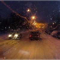 Зимняя  дорога :: Валерий Викторович РОГАНОВ-АРЫССКИЙ