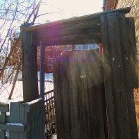 Старые ворота :: Майя *****