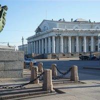 Стрелка В.О.Вид на здание биржи. :: Anton Lavrentiev