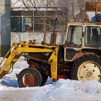 Снегу навалило. :: Viktor Сергеев
