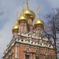 Храм Воскресения Христова в Кадашах. :: Маера Урусова