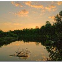 закат на реке :: герасим свистоплясов