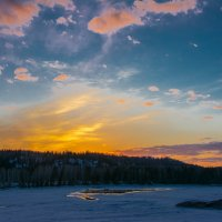 Розовые облака :: Sergey Oslopov