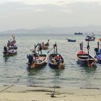 Тайские лодки :: Алексей Окунеев