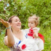 Мыльные пузыри :: Татьяна Герц