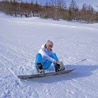 Прелесть зимы в ее видах спорта... :: Оленька Соломатова