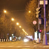 В ночных огнях :: Александр Гринченко