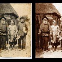 Реставрация старых фотографий :: Евгений Мергалиев
