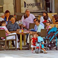 Испанская семья :: Михаил Рогожин