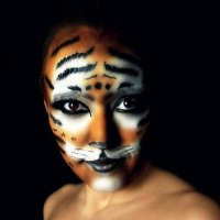 Мой портрет) Боди арт. 2012 год :: Алина Кудрявцева