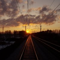 Догоняя солнце :: Алексей Некрасов