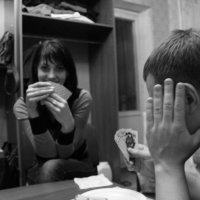 За карточным столом. :: Артем Биленко