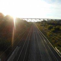 Железная дорога :: Julia Blik