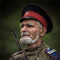1916. Портрет казака бывалого :: Виктор Перякин
