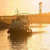 Вечер на реке :: Юлия Семенихина