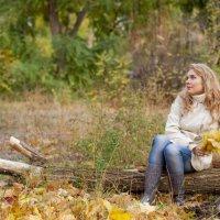 Жанна и Осень :: Александр Кузнецов