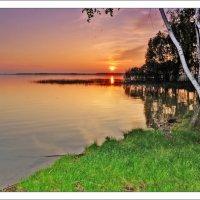 Закат на Чацких озёрах :: Любовь Диас Валдес
