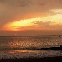 Закат(Индийский океан,Шри-Ланка)... :: Александр Вивчарик