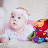 Анастасия, 3 месяца :: Марина Лунёва