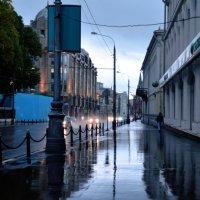 дождик в москве :: Вероника Полканова