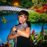 Мой любимый котик! :: Евгения Меликова(Скаридова)