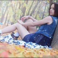 Осенний пляж. :: Анастасия Сергиенко