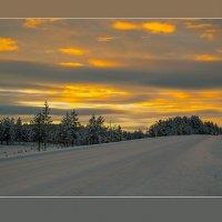 ...солнечный день в полярную ночь.... :: Сергей Долженко