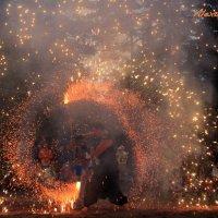 Fire show :: Alexandra Osen'