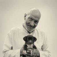 Нищий с собакой. :: Анастасия Кононенко