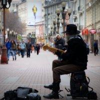 Живая музыка на Арбате :: Алексей Глазунов