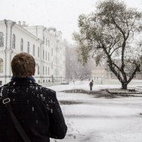 Человек и дерево :: Сергей Игуменшев