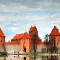 Trakai Island Castle, Lithuania. :: Artem Ryzhykov