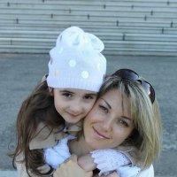 Диана с мамой. :: Семён Минков