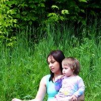 Мама и дочь :: Юлия Кобелева