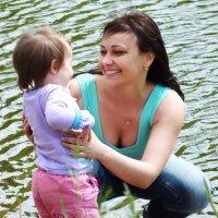 Мать и дочь :: Юлия Кобелева