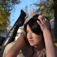 девушка на травке :: ТОмиК ГОржибовская