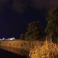 У реки ночью :: Олег Волков