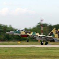 посадка Су-35 :: Sergey Sokolov