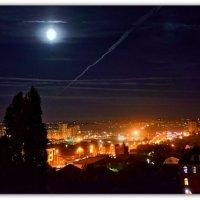 Ночные дороги: небесные и земные :: Александр Гапоненко