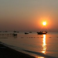 Средиземное море , 6 утра :: Дмитрий Агафонов