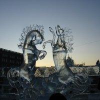 Два белых коня :: Виктор Шилков
