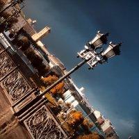 Бликующий фонарь. :: Рустам Ромуальдо